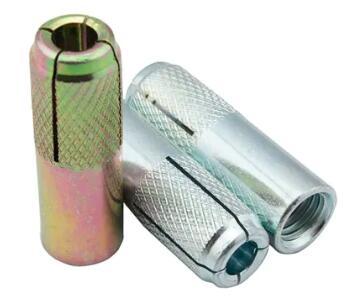 Goccia zigrinata in acciaio al carbonio zincata nell'ancora da M6 a M20