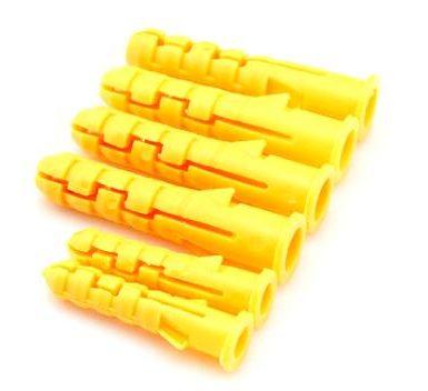 Spine in nylon di tipo conico in plastica per ancoraggio a parete