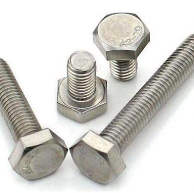Bullone esagonale DIN933 A2 70 acciaio inossidabile 304 e 316