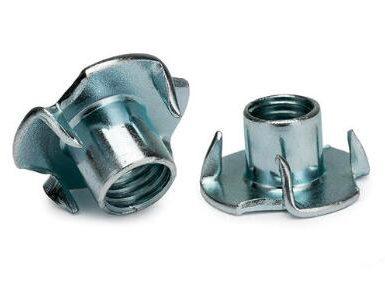 Zinco a quattro griffe in acciaio al carbonio DIN1624
