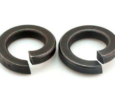 Rondella elastica piana in ossido nero DIN127 DIN128