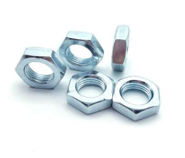 Controdado esagonale zincato din439